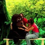 A mi mono le gusta la lechuga