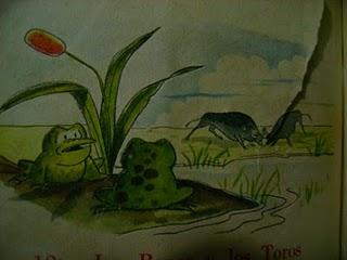 Las ranas y los toros